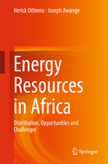 Energy Resources in Africa 1st Edition 9783319251875 3319251872