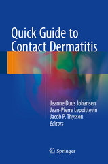 Quick Guide to Contact Dermatitis 1st Edition 9783662477144 3662477149