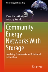 Community Energy Networks With Storage 1st Edition 9789812876522 9812876529