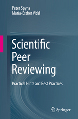 Scientific Peer Reviewing 1st Edition 9783319250847 3319250841