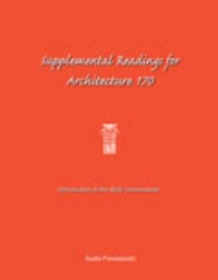 Supplemental Readings for Architecture 170 0 9780787262464 0787262463