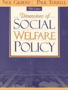 Dimensions of Social Welfare Policy 5th edition 9780205337637 0205337635
