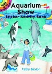Aquarium Show Sticker Activity Book 0 9780486409856 0486409856