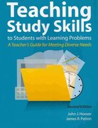Teaching Study Skills to Students with Learning Problems 2nd edition 9781416402138 1416402136