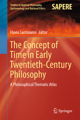 The Concept of Time in Early Twentieth-Century Philosophy 1st Edition 9783319248950 3319248952