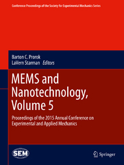 MEMS and Nanotechnology, Volume 5 1st Edition 9783319224589 3319224581