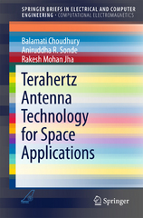 Terahertz Antenna Technology for Space Applications 1st Edition 9789812877994 9812877991