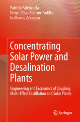 Concentrating Solar Power and Desalination Plants 1st Edition 9783319205359 3319205358
