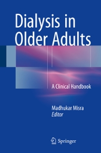Dialysis in Older Adults 1st Edition 9781493933204 1493933205