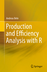 Production and Efficiency Analysis with R 1st Edition 9783319205021 3319205021