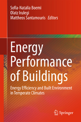 Energy Performance of Buildings 1st Edition 9783319208312 3319208314