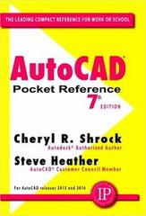 AutoCAD Pocket Reference 7th Edition 9780831135966 0831135964