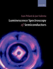 Luminescence Spectroscopy of Semiconductors 1st Edition 9780198757542 0198757549