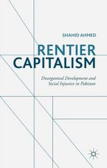 Rentier Capitalism 1st Edition 9781137554468 1137554460