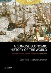 A Concise Economic History of the World: From Paleolithic Times to the Present 5th Edition 9780190603588 0190603585