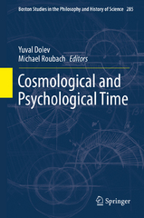 Cosmological and Psychological Time 1st Edition 9783319225906 3319225901