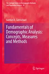 Fundamentals of Demographic Analysis: Concepts, Measures and Methods 1st Edition 9783319232553 331923255X
