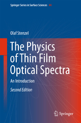 The Physics of Thin Film Optical Spectra 2nd Edition 9783319216027 3319216023