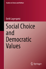 Social Choice and Democratic Values 1st Edition 9783319232614 3319232614