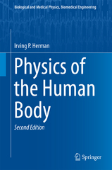 Physics of the Human Body 2nd Edition 9783319239323 3319239325