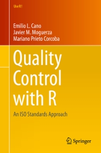 Quality Control with R 1st Edition 9783319240466 3319240463