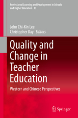 Quality and Change in Teacher Education 1st Edition 9783319241395 3319241397