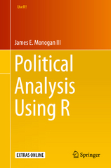 Political Analysis Using R 1st Edition 9783319234465 3319234463