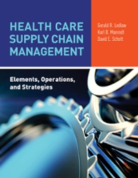 Health Care Supply Chain Management 1st Edition 9781284081862 1284081869