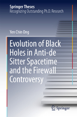 Evolution of Black Holes in Anti-de Sitter Spacetime and the Firewall Controversy 1st Edition 9783662482704 3662482703