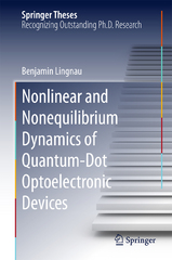 Nonlinear and Nonequilibrium Dynamics of Quantum-Dot Optoelectronic Devices 1st Edition 9783319258058 3319258052