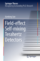 Field-effect Self-mixing Terahertz Detectors 1st Edition 9783662486818 3662486814