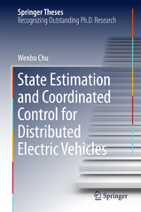 State Estimation and Coordinated Control for Distributed Electric Vehicles 1st Edition 9783662487082 366248708X