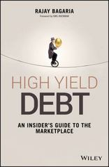 High Yield Debt 1st Edition 9781119134411 1119134412