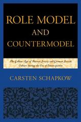 Role Model and Countermodel 1st Edition 9781498508025 1498508022