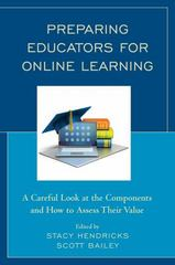 Preparing Educators for Online Learning 1st Edition 9781475822502 1475822502