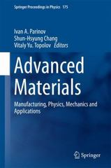 Advanced Materials 1st Edition 9783319263243 3319263242