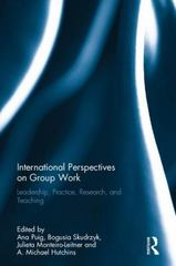 International Perspectives on Group Work 1st Edition 9781138190528 1138190527