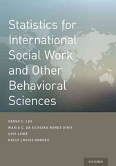 Statistics for International Social Work And Other Behavioral Sciences 1st Edition 9780199379552 0199379556