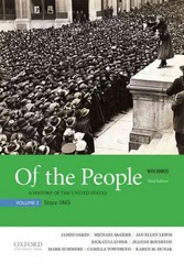 Of the People 3rd Edition 9780190254896 0190254890