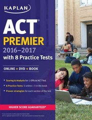 ACT Premier 2016-2017 with 8 Practice Tests 1st Edition 9781506203171 1506203175
