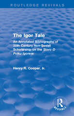 The Igor Tale 1st Edition 9781317295631 1317295633
