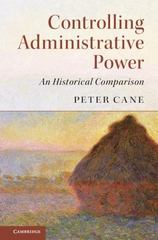 Controlling Administrative Power 1st Edition 9781316601501 1316601501