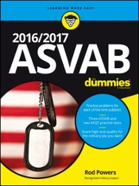 2016 / 2017 ASVAB For Dummies 1st Edition 9781119239178 1119239176
