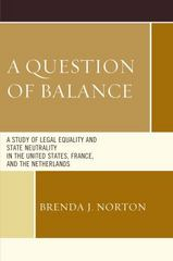 A Question of Balance 1st Edition 9781498523974 1498523978