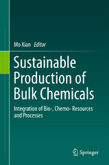 Sustainable Production of Bulk Chemicals 1st Edition 9789401774758 9401774757
