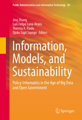 Information, Models, and Sustainability 1st Edition 9783319254395 3319254391
