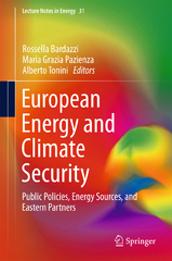 European Energy and Climate Security 1st Edition 9783319213026 3319213024