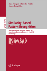 Similarity-Based Pattern Recognition 1st Edition 9783319242613 331924261X