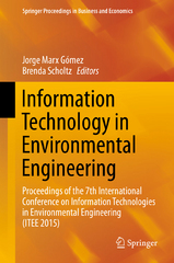 Information Technology in Environmental Engineering 1st Edition 9783319251530 3319251538