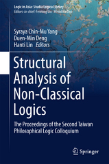 Structural Analysis of Non-Classical Logics 1st Edition 9783662483572 3662483572